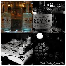 the payday cocktail club reyka vodka bitters launch party at