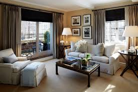 New York Interior Design Living Room Examples With Sleek Modern Looks - New york living room design