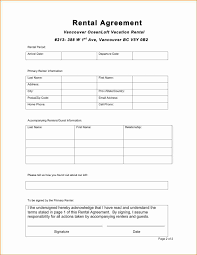 contract rental agreement template images agreement example ideas