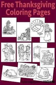 free thanksgiving coloring pages homeschool