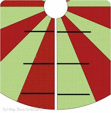 tree skirt free pattern tutorial peek a boo pages
