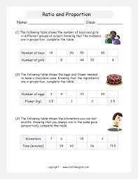 printable math worksheet unit 3 ratios u0026 proportional reasoning