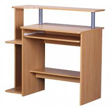 Schreibtisch Mit Viel Stauraum Finebuy Cevo Computertisch Buche 94 X 90 X 48 Cm Mit