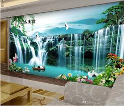 custom any size water painting landscape painting mural 3d custom any size water painting landscape painting mural 3d wallpaper 3d wall papers for tv backdrop hd wallpapers with high resolution hd wallpapersxxx from