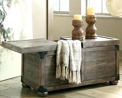Rustic Coffee Table Trunk Rustic Coffee Tables Table Trunk Style Intended For Design 17