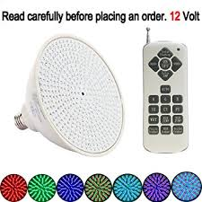 how to change an inground pool light amazon com p led 12v 35w color changing swimming pool lights