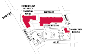 Nc State Campus Map Campus Map Edgecombe Community College
