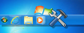 Windows 7 Bar At Top Of Screen 7 Useful Toolbars You Can Add To Your Windows Taskbar