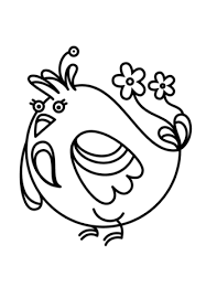 cartoon bird coloring free printable coloring pages