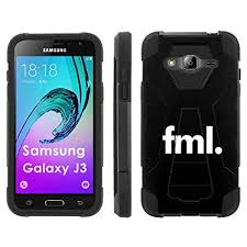 Galaxy Phone Meme - com samsung galaxy j3 phone cover fml meme black hexo