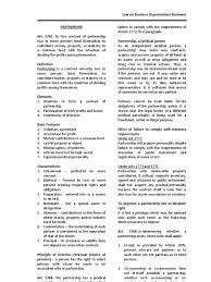 law on partnership and corporation study guide partnership law