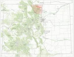 Colorado Area Code Map by Maps Leta911leta911