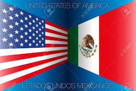 Mexico Flags United States Versus Mexico Flags Stock Photo Picture And Royalty