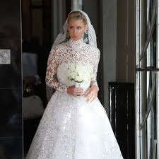 nicky wedding nicky s wedding dress popsugar fashion