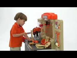 Kids Tool Bench Home Depot Step2 Home Depot Master Carpenter Workshop Youtube