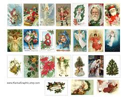 vintage holiday tags printable free the size of the tags is 2x1