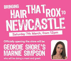 foxy hair extensions newcastle geordie shore s marnie snips the foxy ribbon i