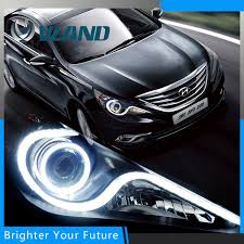 2011 hyundai sonata headlights aliexpress com buy headlight fit for hyundai sonata 2011 14 halo