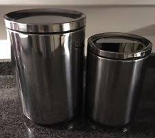 ikea kitchen canisters ikea stainless steel kitchen canisters jars ebay