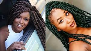 big braids hairstyles big box braids for black women to style immediately hairstyles