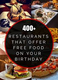 Mama Buffet Coupon 15 Off by 400 Restaurants That Offer Free Food On Your Birthday