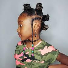 mwahahwk hairstule done using kinky bantuknots mohawk hairstyles for kinky haired girl hair