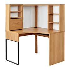 Corner Ikea Desk Furniture Micke Corner Workstation Oak Effect 100x142 Cm Ikea
