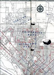 Dallas County Map Old Highway Maps Of Texas