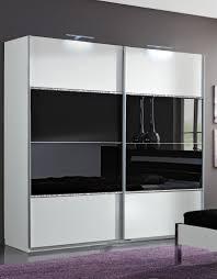 Schlafzimmer Schrank Mit Tv Kleiderschrank Weiß Schwarz Mit Spiegel Tentfox Com