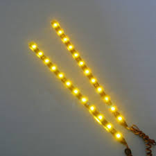 Diy Car Decor 2pcs 12v Diy Car Decor 30cm 5050 Smd 12 Leds Led Strip Light