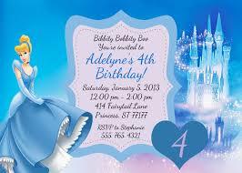 cinderella birthday invitations lilbibby com