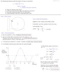 Graphing Speed Worksheet Math Plane Periodic Trig Function Models Word Problems