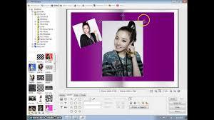 tutorial membuat scrapbook digital how to make a scrapbook edit on photoscape youtube