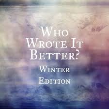 who wrote it better winter edition on the shelf