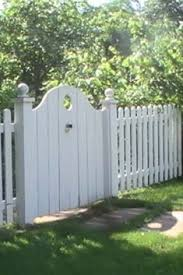 garden gate idea would be nice for a double gate interlocking