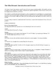 Resume Spacing Format Cheap Resume Writing Services Sydney Conservation Water Resources