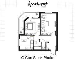 plan chambre a coucher une plancher appartement plan chambre à coucher plat