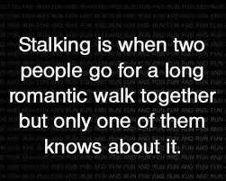 Stalking Meme - definition of stalking