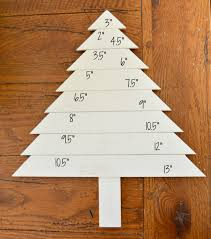 wooden christmas tree box one artsy mama