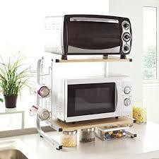meuble micro onde cuisine sobuy frg092 n etagère four micro onde meuble rangement cuisine