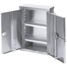 omnimed 181601 double door narcotic cabinet