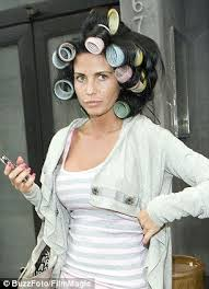 husband forced to sleep in hair rollers as vogue declares hair curlers are the height of fashion a