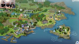 World Map Game The Sims 4 Cats U0026 Dogs Brindleton Bay World Map Sims Community