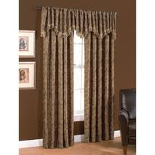 Chocolate Brown Valances For Windows Shop Curtains U0026 Drapes At Lowes Com