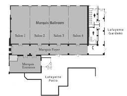ballroom floor plan meeting facilities floor plans