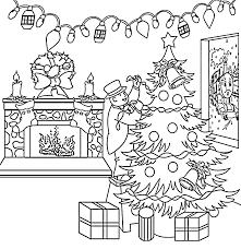 christmas coloring pages coloringpagesonly