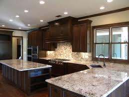 river white granite with dark cabinets kitchens with white cabinets and granite countertops river white