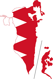 map of bahrain file flag map of bahrain svg wikimedia commons