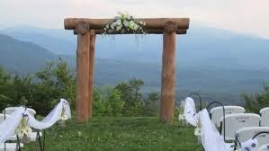 wedding arch log image gallery log wedding arch