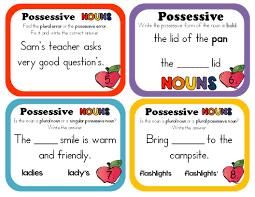 possessive nouns possessive nouns grade 2 and assessment